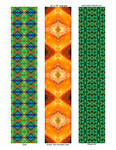 """designs for scarves, 14""""x72""""  # 4-5-7"""