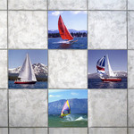 Backsplash  Sailing Mosaic