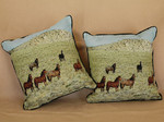 Pillows Nevada Mustangs sets of two