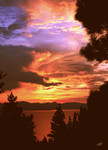 Fire In The Sky over Lake Tahoe