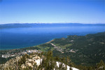 Lake Tahoe  from East Peak