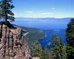 Lake Tahoe from High above Emerald Bay