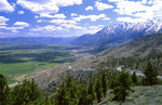 Carson Valley below Jobs Peak