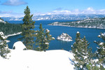 Clear Winter Day at Emerald Bay
