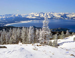 Cold Winter Day at Tahoe's South Shore
